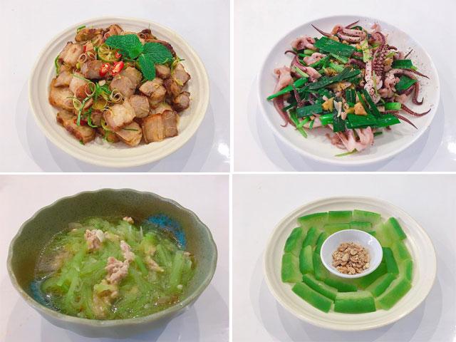 Thực đơn cho bữa trưa toàn món đưa cơm, ấm bụng ngày rét đậm
