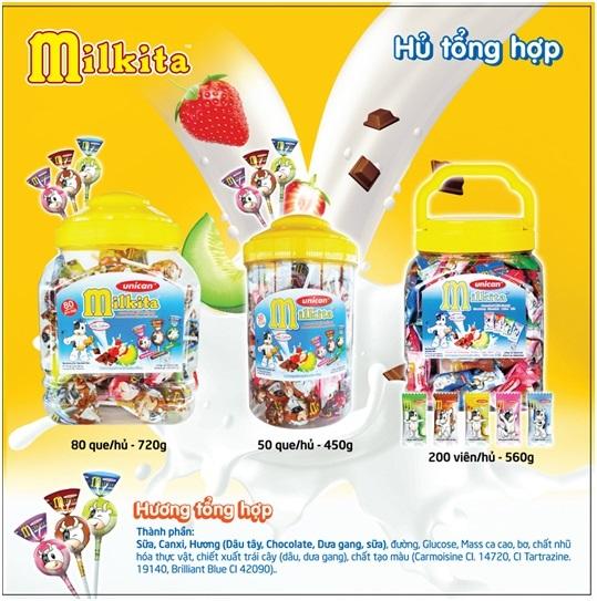Kẹo sữa dinh dưỡng MILKITA: Sản phẩm tốt cho trẻ em và gia đình Việt
