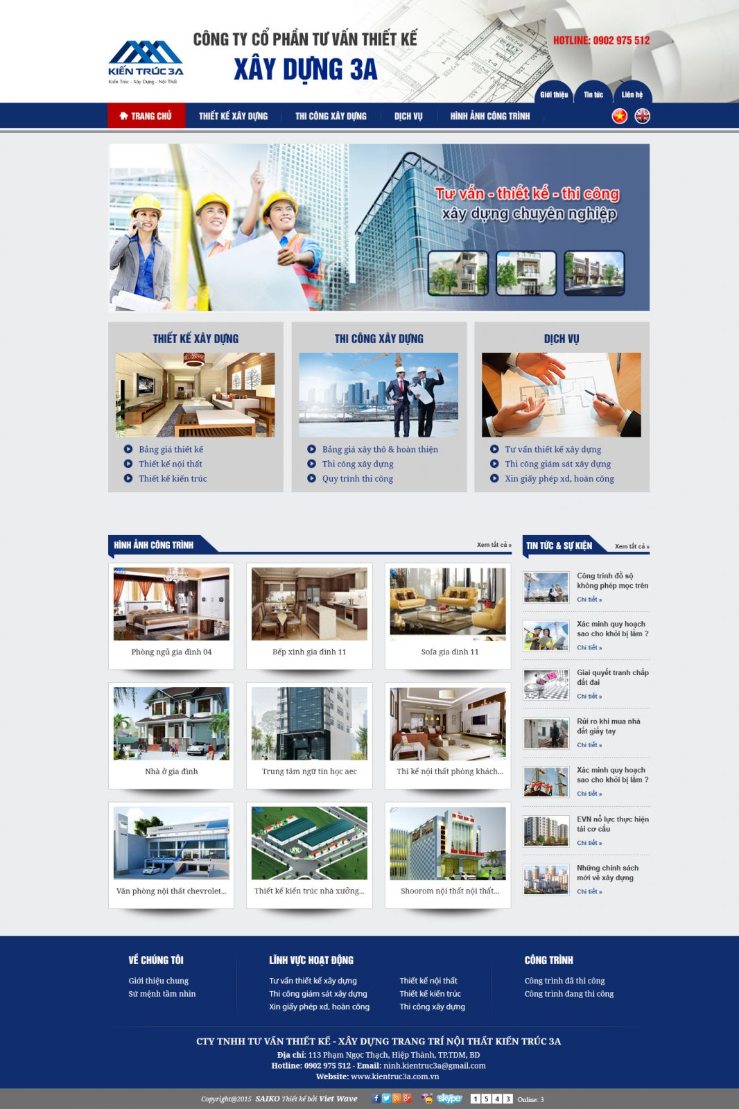 CTY CP XÂY DỰNG 3A
