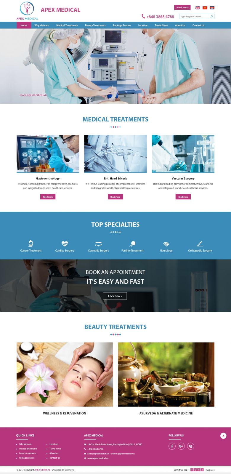 APEX MEDICAL VIET NAM