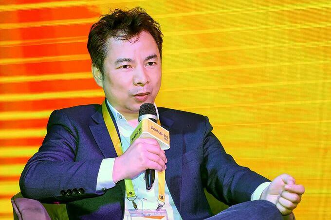 Ông Richard Triều Phạm - Phó tổng giám đốc Tài chính Tập đoàn Tiki. Ảnh: Quỳnh Trần.